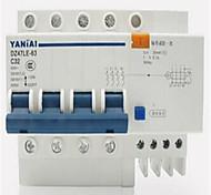 Yan Tai DZ47LE-63 4p высокого качества небольшой утечки на землю выключатель воздушный выключатель