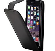 Для Кейс для iPhone 7 / Кейс для iPhone 6 / Кейс для iPhone 5 Бумажник для карт / Флип Кейс для Чехол Кейс для Один цвет Твердый