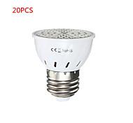 20PCS E27 5W 72 LED 2835 SMD Full Spectrum Grow Light Bulb Greenhouse Hydroponic System Veg Flowers Plants Lamp Grow Box