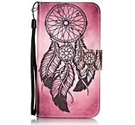For Card Holder Pattern Case Full Body Case Dream Catcher Hard PU Leather for LG K10  LG K8  LG K7  LG LS770 LG LS775 LG V20 LG X POWER LG X SCREEN