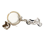 Key Chain Leisure Hobby Key Chain Motorcycle Metal White For Boys / For Girls