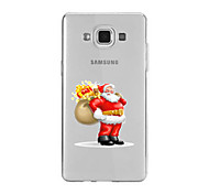 For Samsung A9(2016)A9 Pattern Case Back Cover Case Santa Claus Soft TPU for Samsung A9(2016) A7(2016) A5(2016) A3(2016) A9 A8 A7 A5 A3