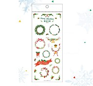 Christmas Decoration Gift Packaging Decoration Stickers