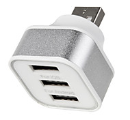 Cwxuan® DC 5V Single USB Male to Multi USB Female Charge Adapter for iOS / Android Devices