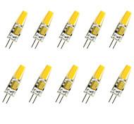 3W G4 Bombillas LED de Mazorca T COB COB 280LM lm Blanco Cálido / Blanco Fresco Decorativa V 10 piezas