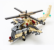 Action Figures & Stuffed Animals / Building Blocks For Gift  Building Blocks Model & Building Toy Tank / Fighter / Helicopter / Truck ABS