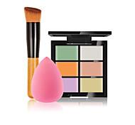 6 Concealer/ContourPowder Puff/Beauty Blender / Makeup Brushes Wet Face Concealer