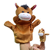 Finger Puppet Novelty Toy Toys Novelty Plush Khaki Boys / Girls