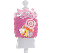 Dog Coat Dog Clothes Casual/Daily Lace Rose