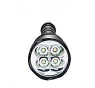 Luci Torce LED LED 3800 Lumens 5 Modo LED 18650 / AAA Dimmerabile / Impermeabili / Ultraleggero / Alta intensità