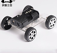 DIY Toys Technology Small Production Puzzle Assembled Mini Two Drive Car 89 Wind Car Electric Toy Car