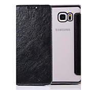 For Samsung  Galaxy Note 4 5 Case Cover  Pure Color Elegant Elegant Electroplating TPU Shell After Striae Cell Phone Sets