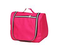 Travel Bag Toiletry Bag Travel Tote Luggage Organizer / Packing Organizer for Travel Storage Toiletries Polyester-Black Red Blue Blushing