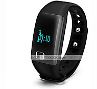 Aceaide HR08 Heart Bracelet Intelligent Sleep Heart Rate Pedometer Accurate (Sport) Black Red Blue
