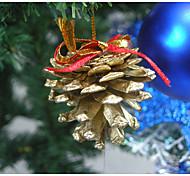 9 реальные шишки / украшения рождественской елки