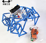 Crab Kingdom DIY Puzzle Assembled Toy Material Package With Remote Control Wooden Cattle Horse Mechanical Beast 79