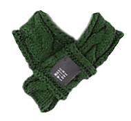 Dog Bandanas & Hats Dog Clothes Casual/Daily Solid Dark Green