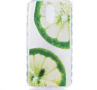 For Motorola Moto G4 Plus Case Cover Lemons Pattern Back Cover Soft TPU G4