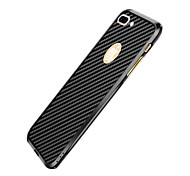 For Apple iPhone 7 Plus 7 6s Plus 6 Plus 6s 6 Case Cover Dustproof Ultra-thin Back Cover Solid Color Hard Metal