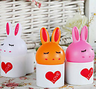 Room Bedside Lamp Cute Cartoon Rabbit Midnight Lamp Voice Control Lamp