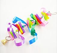 Multi-Color Portable Metal Paper Bird Toys 1pc
