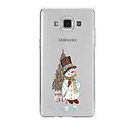 For Samsung A9(2016)A9 Pattern Case Back Cover Case Christmas Snowman Soft TPU for Samsung A9(2016) A7(2016) A5(2016) A3(2016) A9 A8 A7 A5 A3