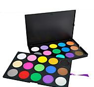 30 Eyeshadow Palette Dry Eyeshadow palette Pressed powder Daily Makeup