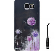 For Samsung Galaxy A5 A3 (2016) Case Cover Dandelion Pattern Super Soft Painting High Permeability TPU Material Phone Case  Touch Screen Pen