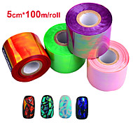 1roll Nail Art Sticker Adesivi 3D unghie makeup Cosmetic Nail Art Design
