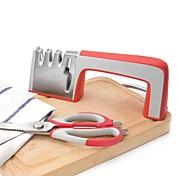 puede decimoquinto 4-en-1 sacapuntas para todos los cuchillos y tijeras de cocina profesional cuchillo de 4 etapas