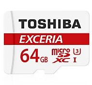 TOSHIBA MicroSD Micro SD SDHC C10 Max Read Speed 90M/S TF 64GB Memory Card