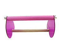 Bird Perches & Ladders Plastic Pink