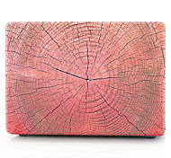 Red Wooden Pattern MacBook Computer Case For MacBook Air11/13 Pro13/15 Pro with Retina13/15 MacBook12