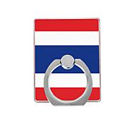 флаг Таиланда шаблон пластиковый держатель кольца / 360 вращающийся для мобильного телефона iphone 8 7 samsung galaxy s8 s7