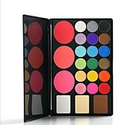 24 Eyeshadow Palette Dry Eyeshadow palette Pressed powder Normal Daily Makeup