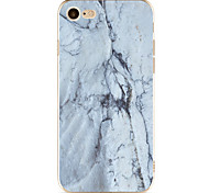 For Apple iPhone 7  6S Case Cover Marble Pattern Painted TPU Material Soft Package Phone Case