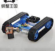 Crab Kingdom DIY Technology Production of Toys Assembled With Remote Control High Torque Armored Track Tank 26