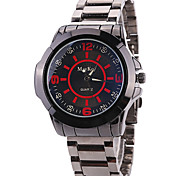 Men's Wrist watch / Quartz Stainless Steel Band Cool Casual Grey