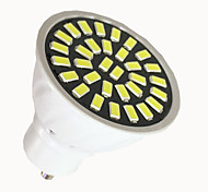 6W GU10 LED Spotlight 32 SMD 5733 500-700 lm Warm White / Cool White AC 220V