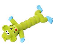 Dog Toy Pet Toys Squeaking Toy Squeak / Squeaking Red Green Orange Silicone