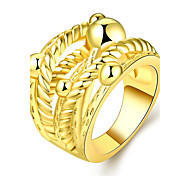 High Quality Classic Gold Rings For Women 18K Rose Gold Plated Rings Bague Bijoux Lady Gift R747