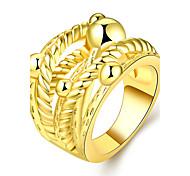Ring Schmuck vergoldet Rose Gold überzogen 18K Gold Gold Rose Schmuck Hochzeit Party Halloween Alltag Normal Sport 1 Stück