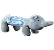 Dog Toy Pet Toys Squeaking Toy Squeak / Squeaking Blue / Pink / Yellow Cotton