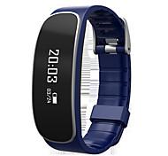 Pulsera SmartResistente al Agua / Long Standby / Podómetros / Atención de Salud / Deportes / Monitor de Pulso Cardiaco / Despertador /