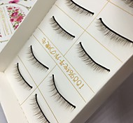 Eyelashes lash Full Strip Lashes Eyes Colorful Handmade Fiber Others 0.10mm 8mm