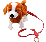 Dog Toy Pet Toys Plush Toy / Squeaking Toy Squeak / Squeaking / Durable Khaki Cotton