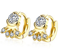 1.3*1.1CM Cat's Claw Shaped 18K Gold Plated Clip Earrings For Women Gold Ear Cuff Clip On Earring Female E137