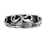 Round Design RingSporty Style Silver Plated Fashion Jewelry Finger Ring For  Men Dress Accessories