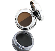 Love Too Thin Waterproof Anticorona/Double Color Eyebrow Powder  Persistent Black Eyeliner