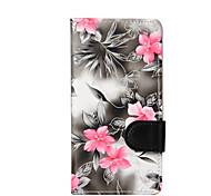 For LG LG K10 / LG K8 / LG K4 / LG G3 Mini Flowers PU Leather Case
